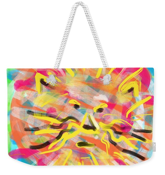 King Of The Jungle Weekender Tote Bag