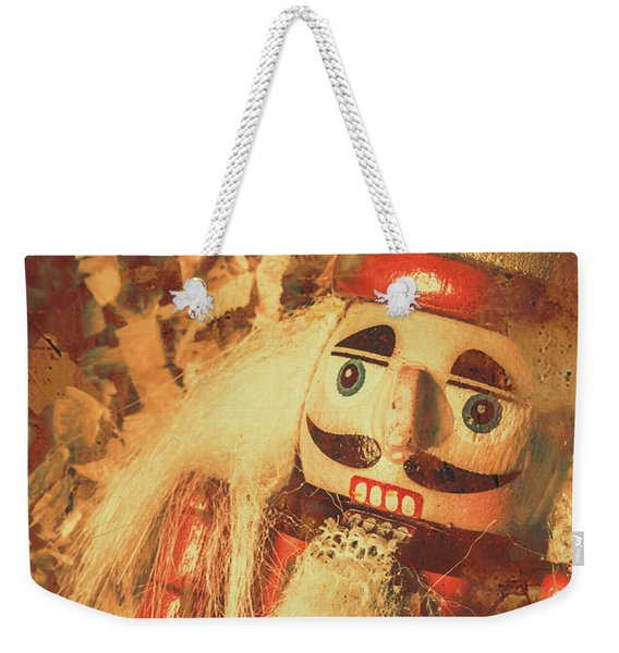 King Of The Toy Cabinet Weekender Tote Bag