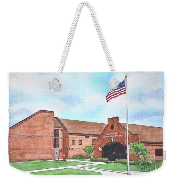 Kings Bay Marine Corps Security Force Battalion Weekender Tote Bag