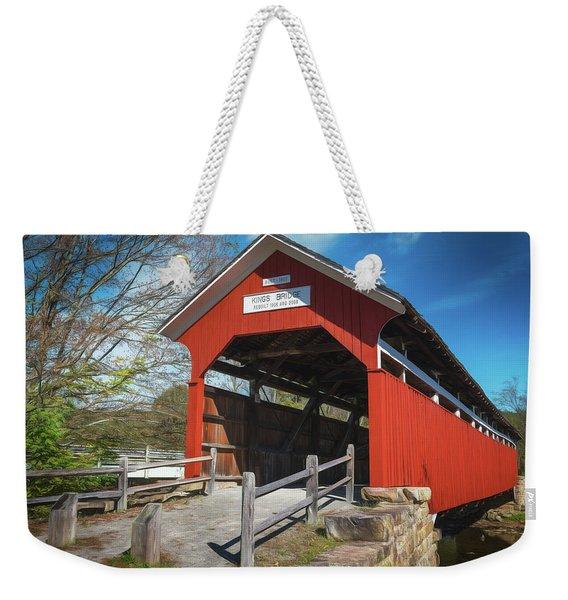 Kings Bridge Weekender Tote Bag
