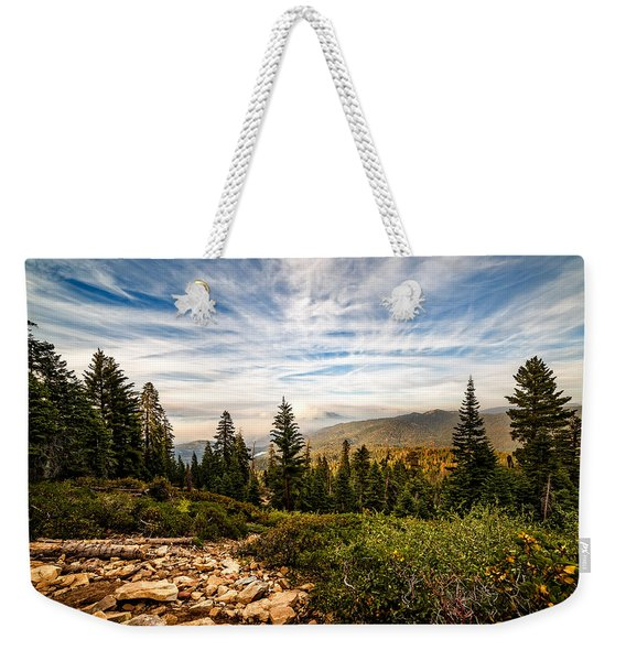 King's Canyon Crown Weekender Tote Bag
