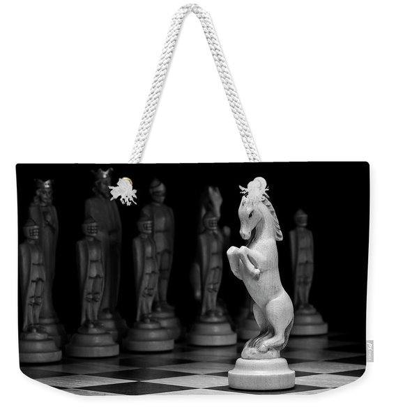 King's Court - The Valiant Knight Weekender Tote Bag