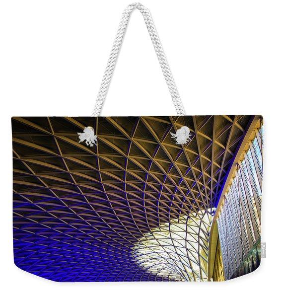 Kings Cross Railway Station Roof Weekender Tote Bag