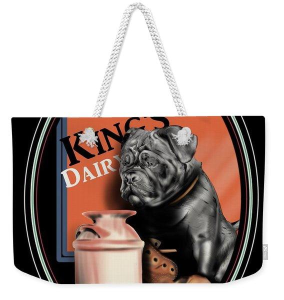King's Dairy  Weekender Tote Bag
