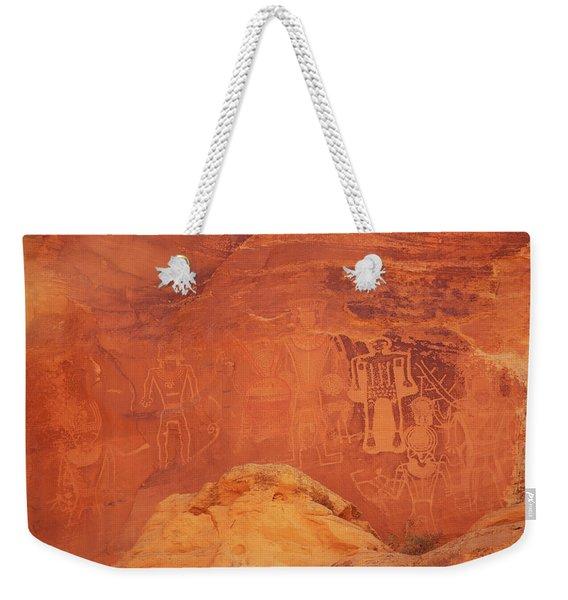 Kings Panel Weekender Tote Bag