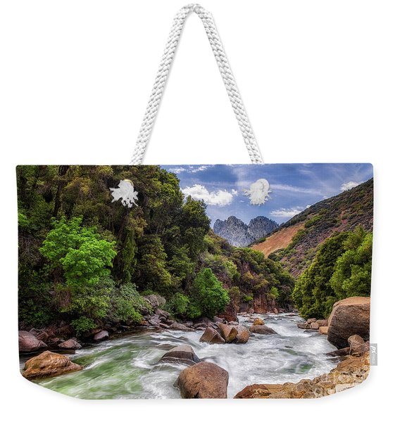 Kings River Weekender Tote Bag