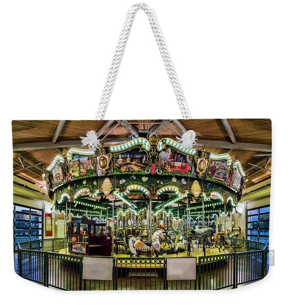Kingsport Carousel Weekender Tote Bag