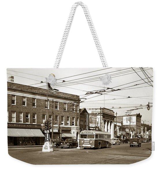 Kingston Corners Kingston Pa Early 1950s Weekender Tote Bag