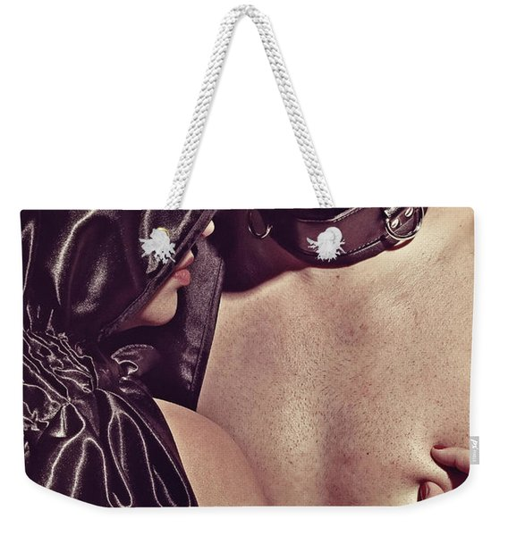 Kinky Play Man And Woman Weekender Tote Bag