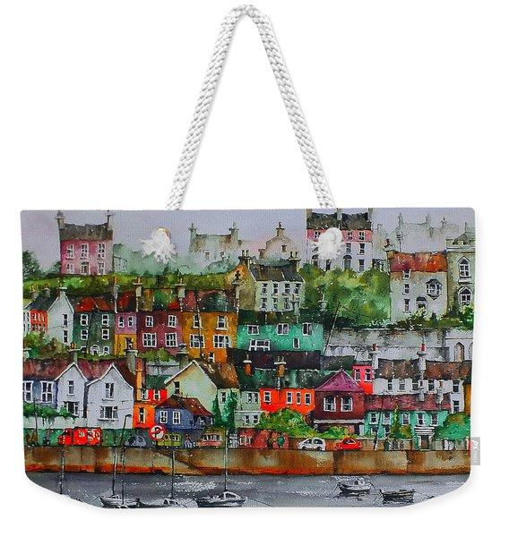 Kinsale Panorama, West Cork Weekender Tote Bag