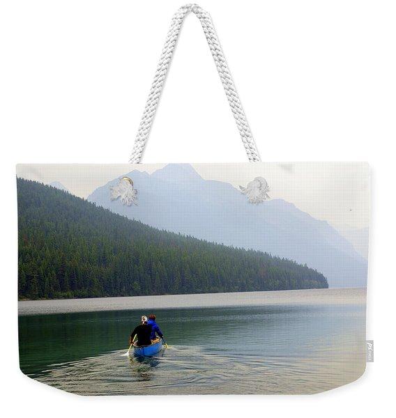 Kintla Lake Paddlers Weekender Tote Bag