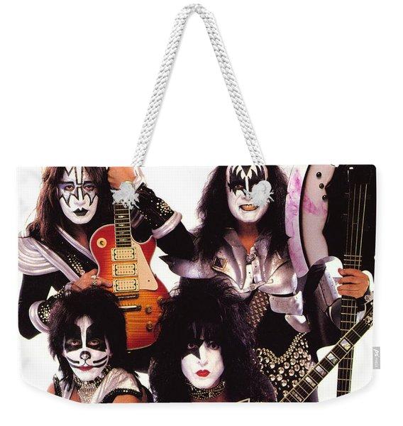 K.i.s.s. Weekender Tote Bag