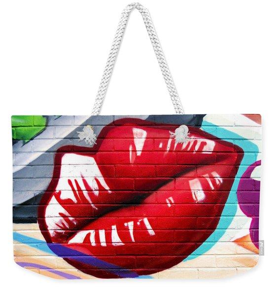 Kiss Me Now ... Weekender Tote Bag