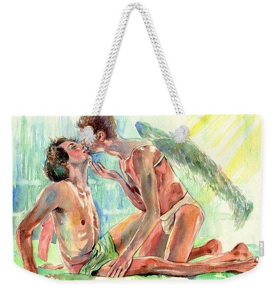 Kiss Of The Angel Weekender Tote Bag