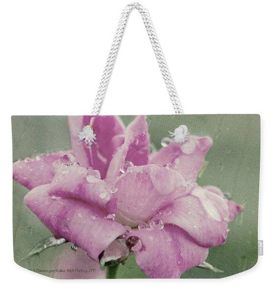 Kissed By The Rain Weekender Tote Bag