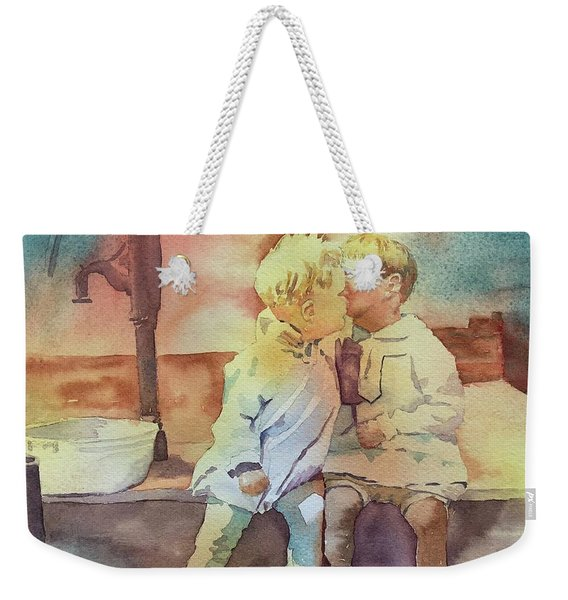 Kissing Cousins Weekender Tote Bag