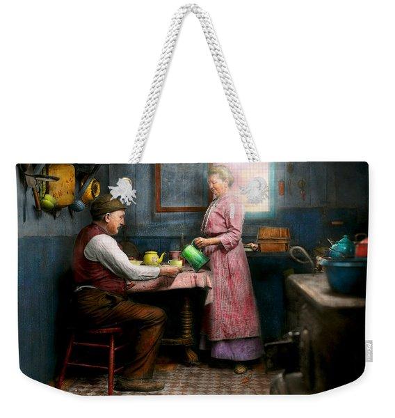 Kitchen - Morning Coffee 1915 Weekender Tote Bag