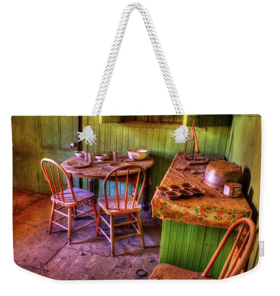 Kitchen Table Bodie California Weekender Tote Bag