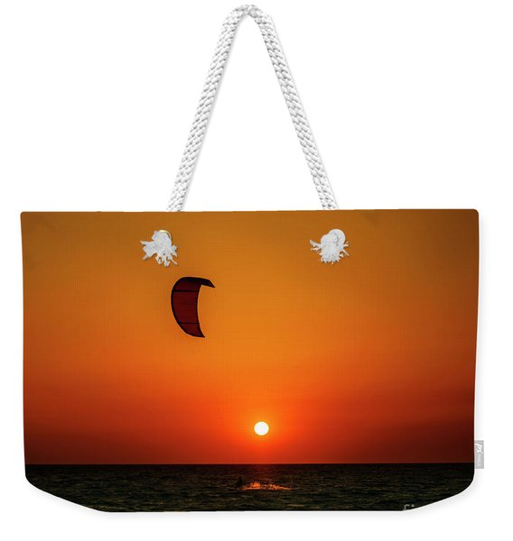 Kite Surfing Weekender Tote Bag