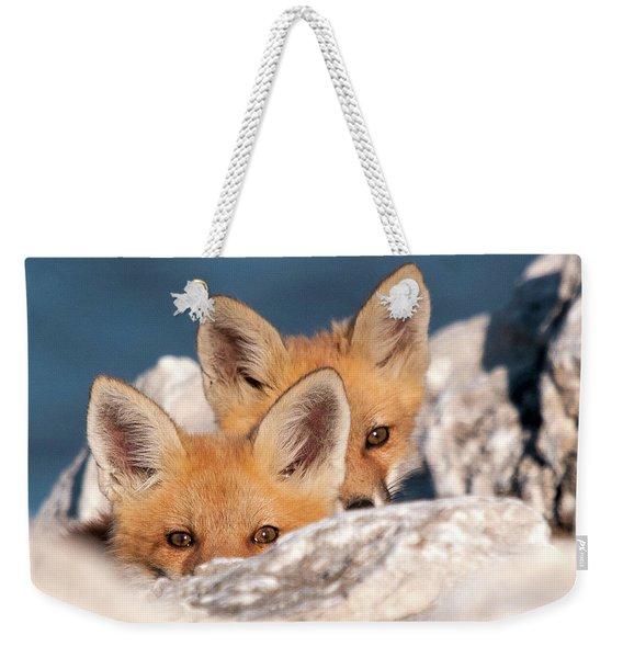 Kits Weekender Tote Bag