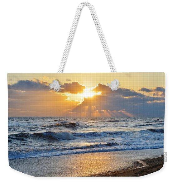 Kitty Hawk Sunrise Weekender Tote Bag