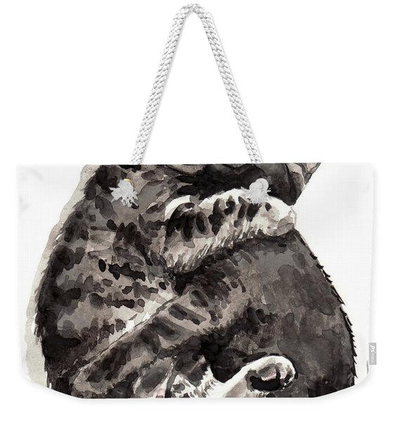 Kitty Hugs Weekender Tote Bag
