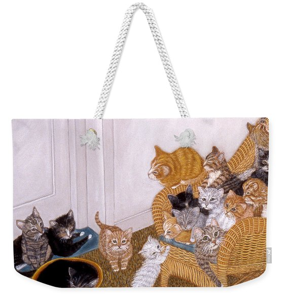 Kitty Litter II Weekender Tote Bag