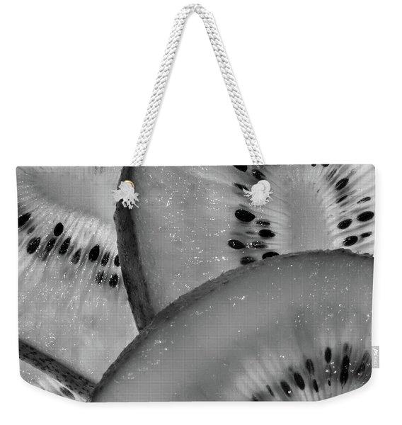 Kiwi Art Weekender Tote Bag