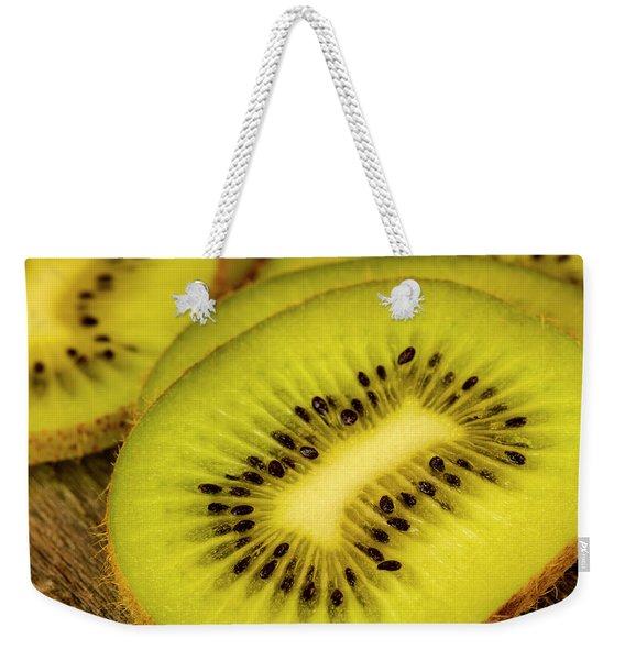 Kiwi Slices Weekender Tote Bag