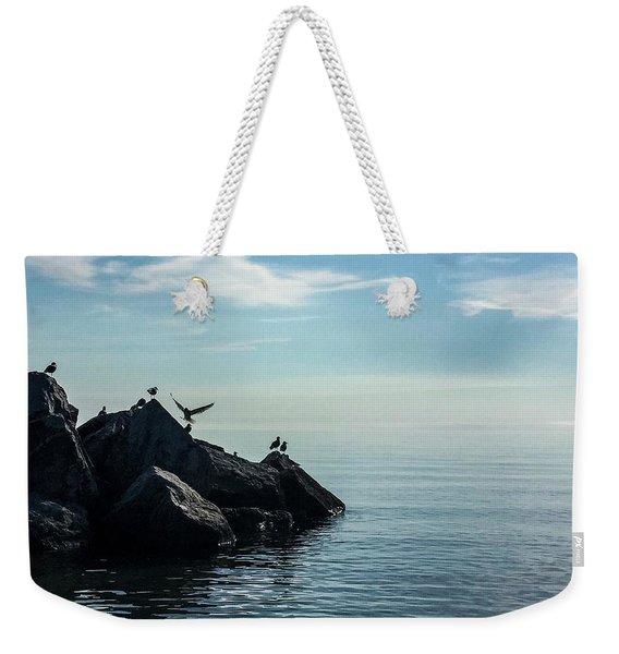 Klode Gulls Weekender Tote Bag