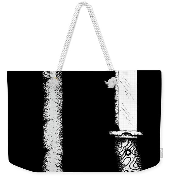 Knife And Bone Weekender Tote Bag