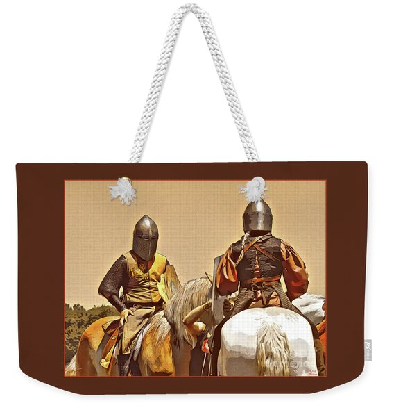 Knight's Conference Weekender Tote Bag