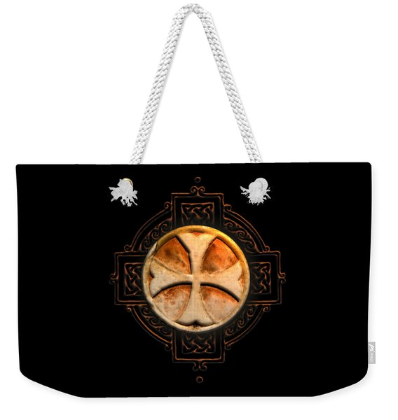 Knights Templar Symbol Re-imagined By Pierre Blanchard Weekender Tote Bag