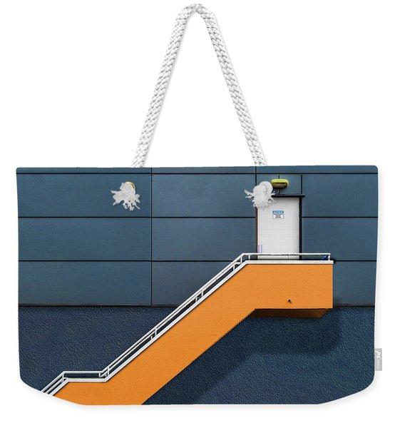 Knock Before Entering Weekender Tote Bag