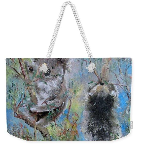 Koalas Weekender Tote Bag