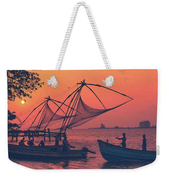 Kochi Weekender Tote Bag