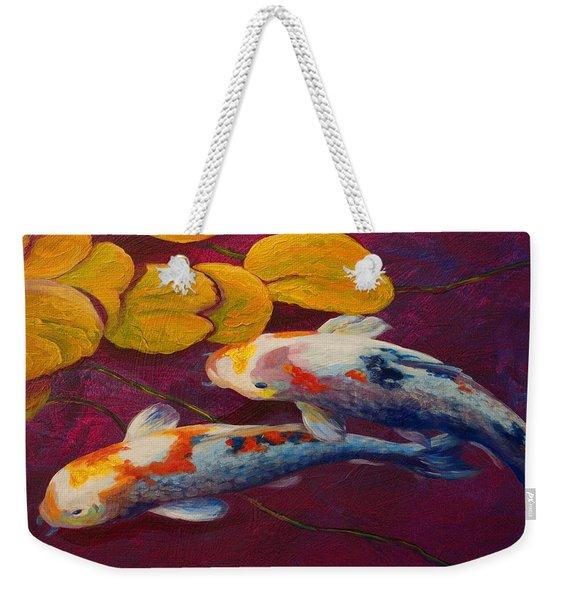 Koi Pond II Weekender Tote Bag
