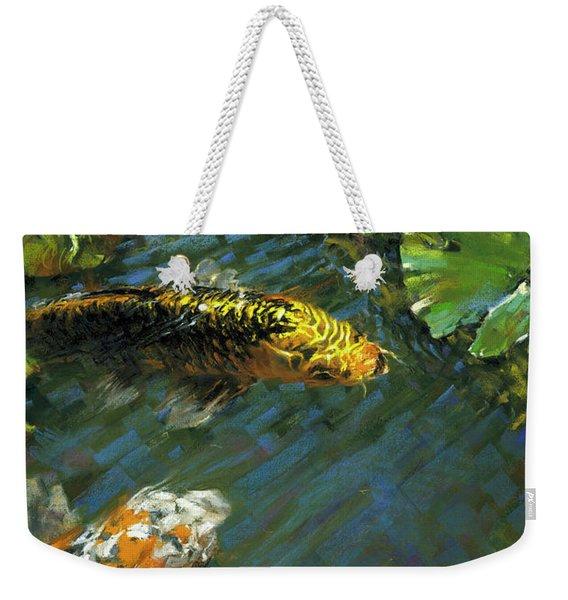 Koi Pond Weekender Tote Bag