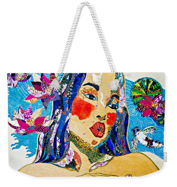 Koi Princess Weekender Tote Bag