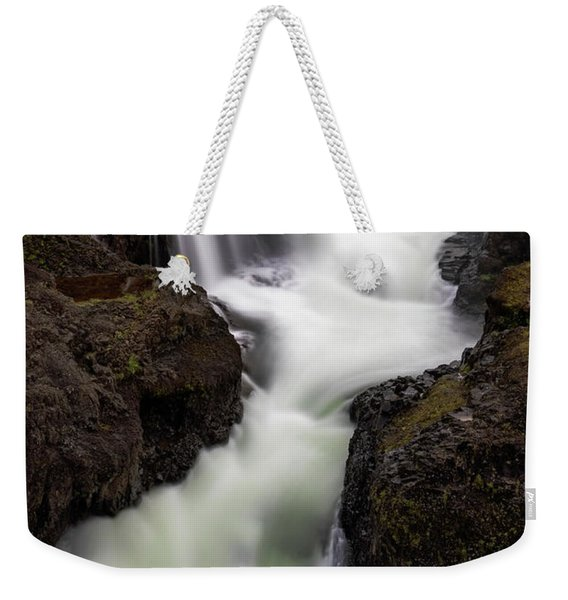 Kolugljufur Waterfalls Weekender Tote Bag