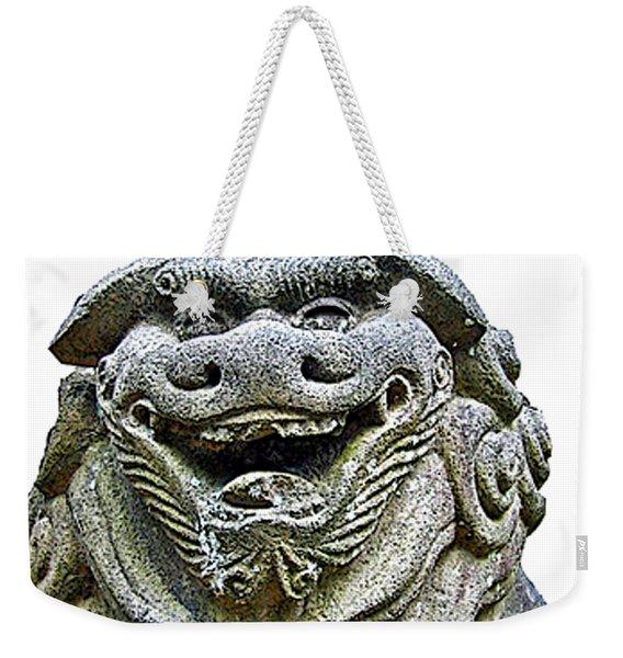 Komainu04 Weekender Tote Bag