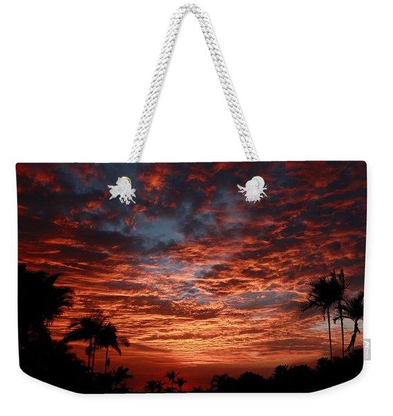Kona Fire Sky Weekender Tote Bag