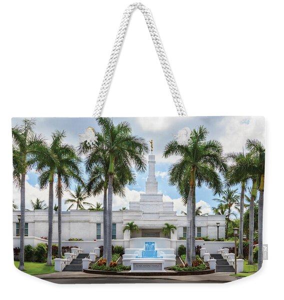 Kona Hawaii Temple-day Weekender Tote Bag