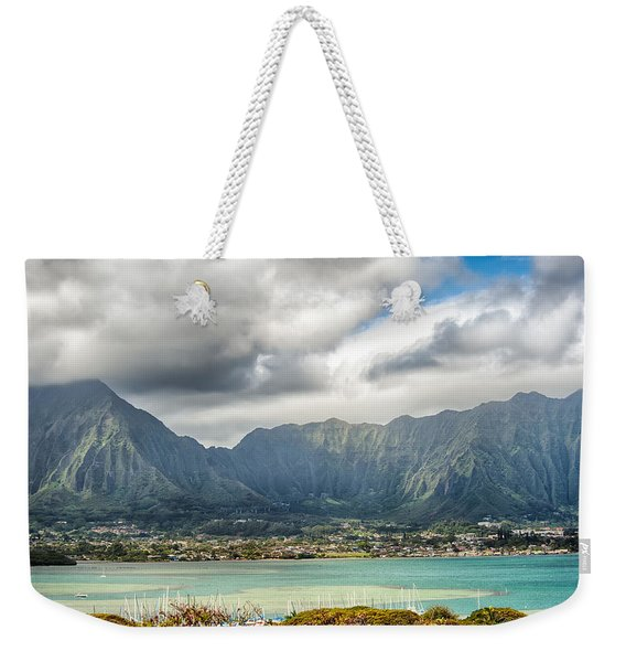 Ko'olau And H-3 In Color Weekender Tote Bag