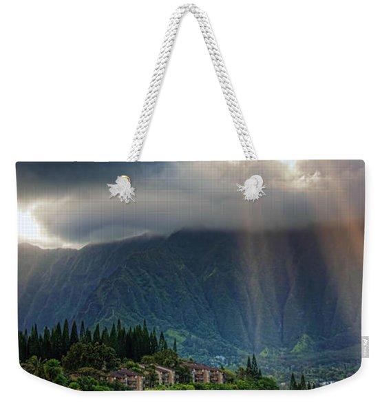Koolau Sun Rays Weekender Tote Bag