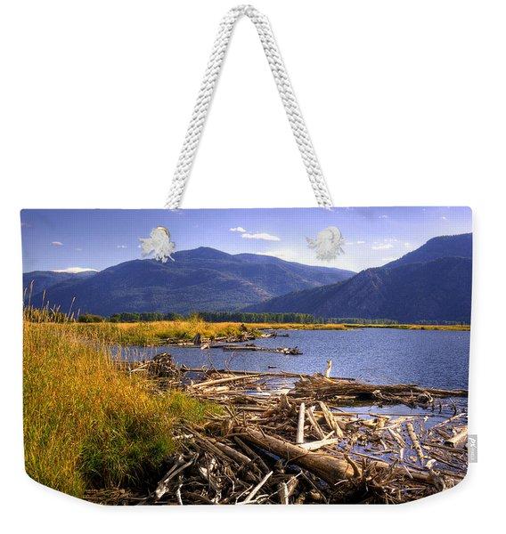 Kootenai Lake Bc Weekender Tote Bag