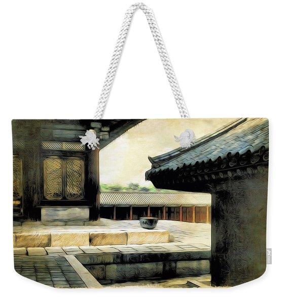 Korean Palace I Weekender Tote Bag