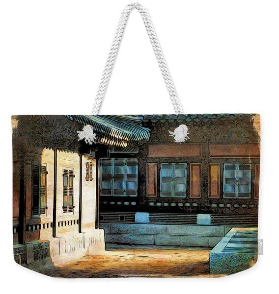 Korean Palace II Weekender Tote Bag