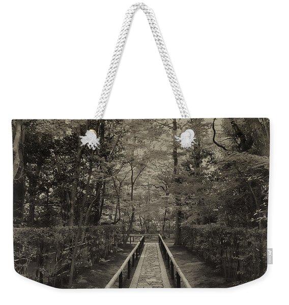 Koto-in Zen Temple Forest Path - Kyoto Japan Weekender Tote Bag