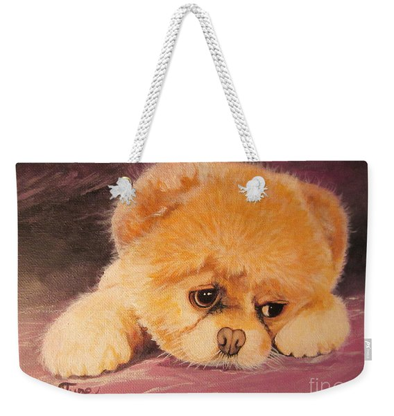 Flying Lamb Productions     Koty The Puppy Weekender Tote Bag